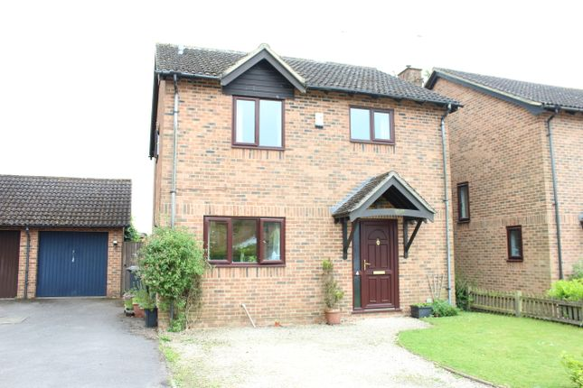 Thumbnail Detached house for sale in Combe View, Hungerford