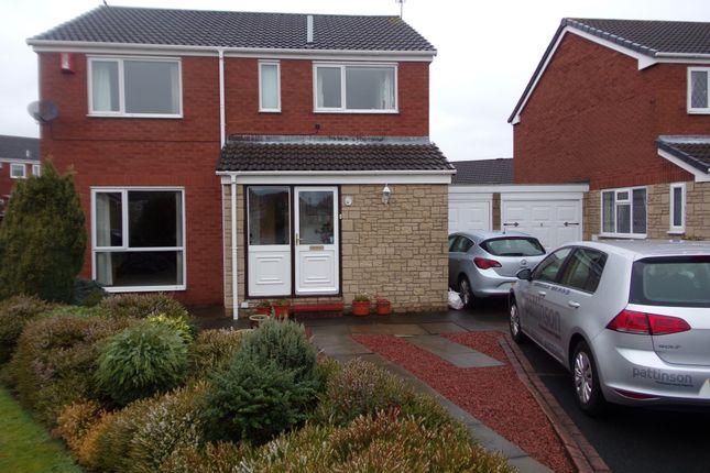 Thumbnail Detached house for sale in Cormorant Close, Ashington