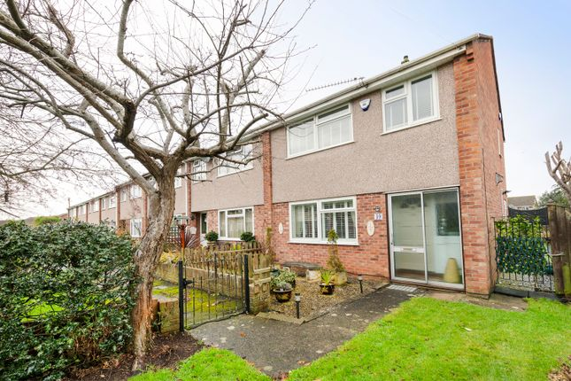 Thumbnail End terrace house for sale in Wincroft, Oldland Common, Bristol