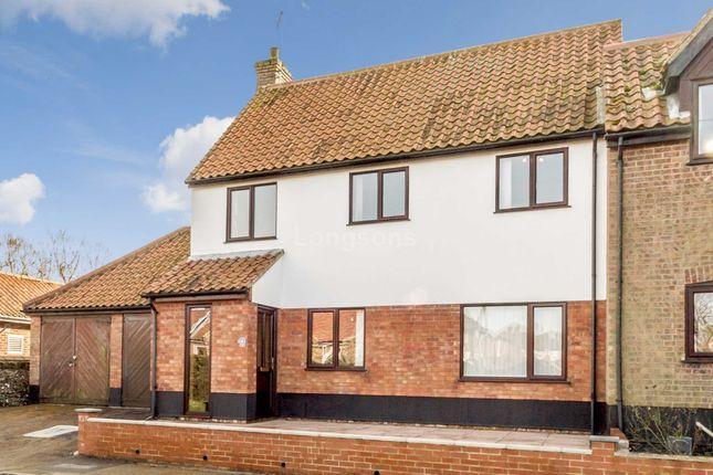 Thumbnail End terrace house for sale in Sandles Court, Castle Acre, King's Lynn