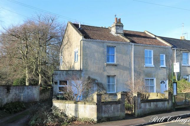 Thumbnail End terrace house for sale in Combe Road, Combe Down, Bath