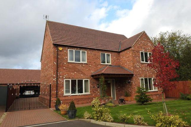 Thumbnail Detached house for sale in Rowan Court, Hucknall, Nottingham