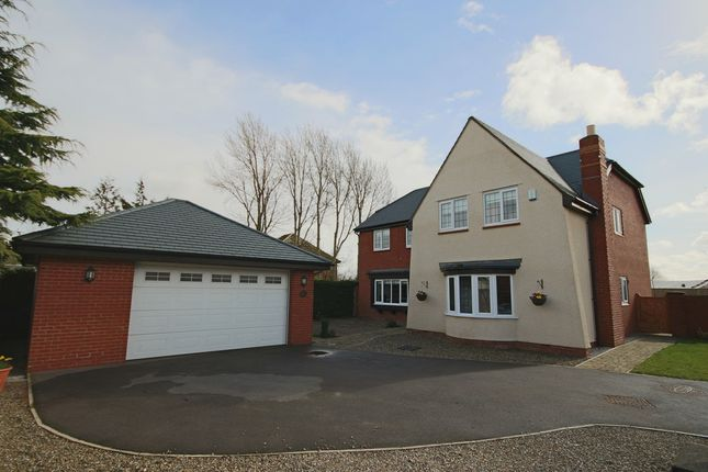Thumbnail Detached house for sale in Orchard Gardens, Much Hoole, Preston