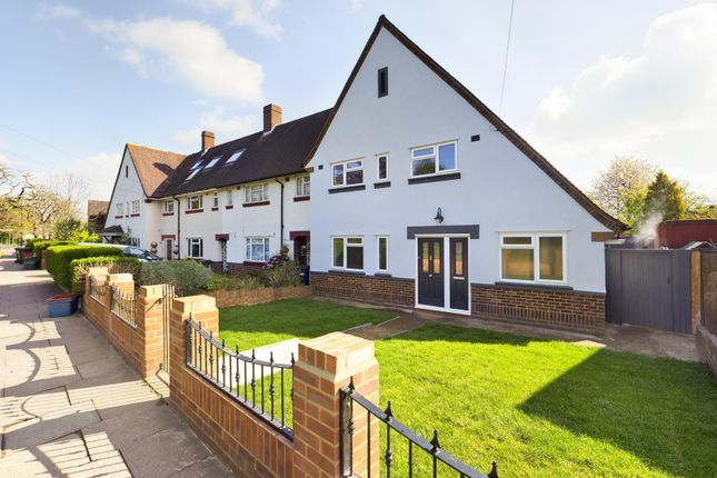 Thumbnail End terrace house for sale in Chertsey Road, Feltham, Middlesex