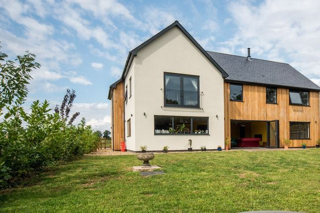 Thumbnail Detached house for sale in Gissing Road, Burston, Diss