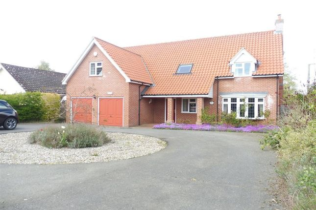 Thumbnail Detached house to rent in Low Street, Oakley, Diss