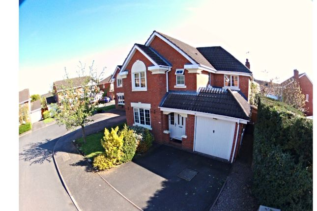Thumbnail Detached house for sale in Cairndhu Drive, Greenhill, Kidderminster
