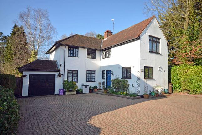 Thumbnail Detached house for sale in Frimley Green Road, Frimley Green, Camberley, Surrey