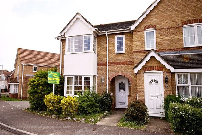 Thumbnail Semi-detached house to rent in Yeates Drive, Kemsley, Sittingbourne