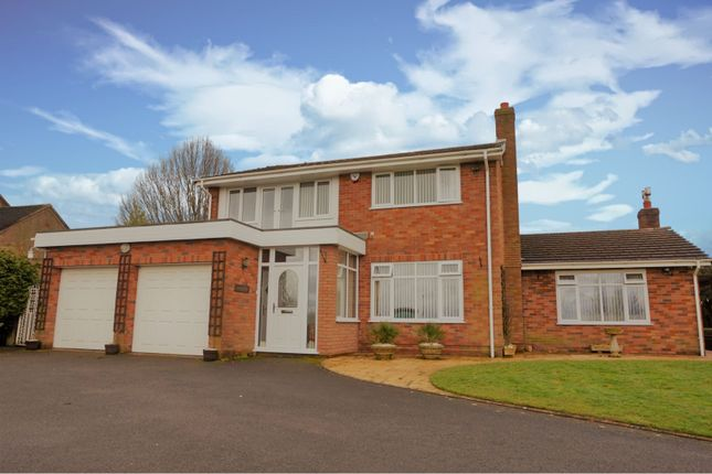 Thumbnail Detached house for sale in Lodgewood Lane, St. Georges, Telford
