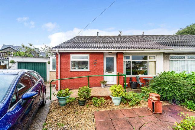 Thumbnail Semi-detached bungalow for sale in Garth Grove, Hirwaun, Aberdare