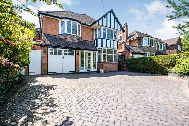Thumbnail Detached house for sale in Dorchester Road, Solihull