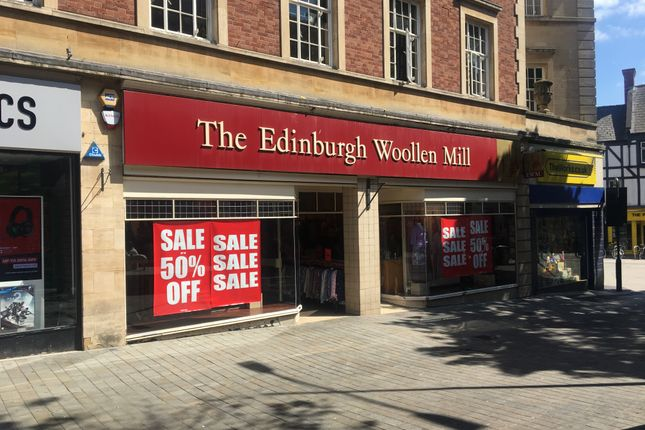 Retail premises to let in St Peter At Arches, High Street, Lincoln