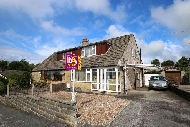 Thumbnail Semi-detached house for sale in Clougha Avenue, Halton, Lancaster