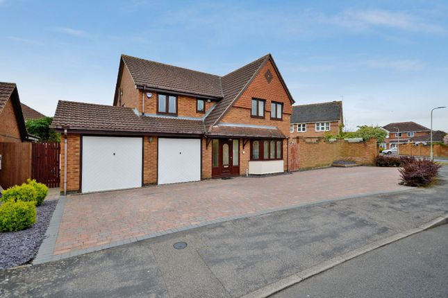 Thumbnail Detached house for sale in Raine Way, Oadby, Leicester