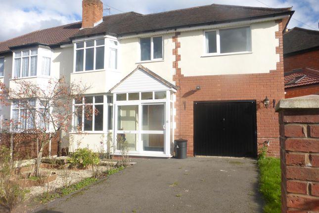 Thumbnail Property to rent in Bradstock Road, Kings Norton, Birmingham
