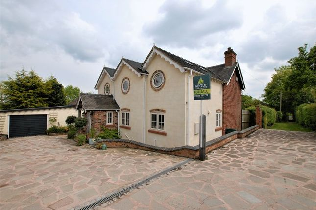 Thumbnail Detached house for sale in Jardines Lane, Stubwood, Uttoxeter