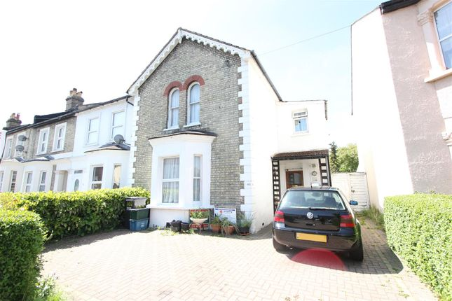 Thumbnail End terrace house for sale in The Close, Birchanger Road, Woodside, Croydon