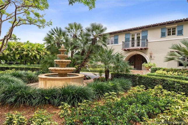Thumbnail Property for sale in 3211 Alhambra Cir, Coral Gables, Florida, United States Of America