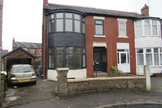 Thumbnail Semi-detached house for sale in Rostherne Avenue, Old Trafford, Manchester