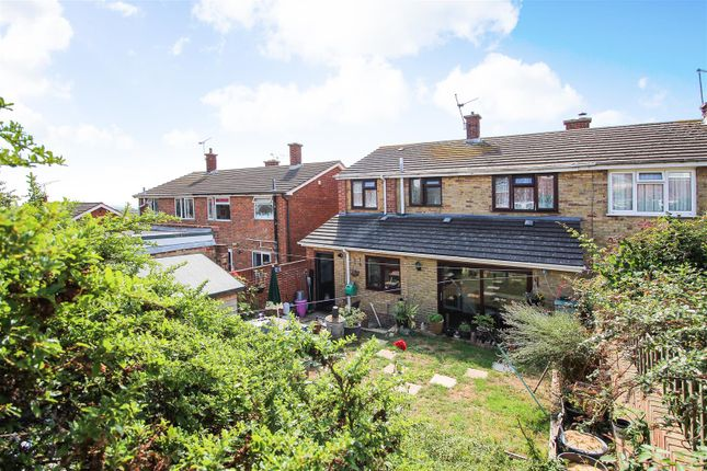 Thumbnail Semi-detached house for sale in Vidgeon Avenue, Hoo, Rochester