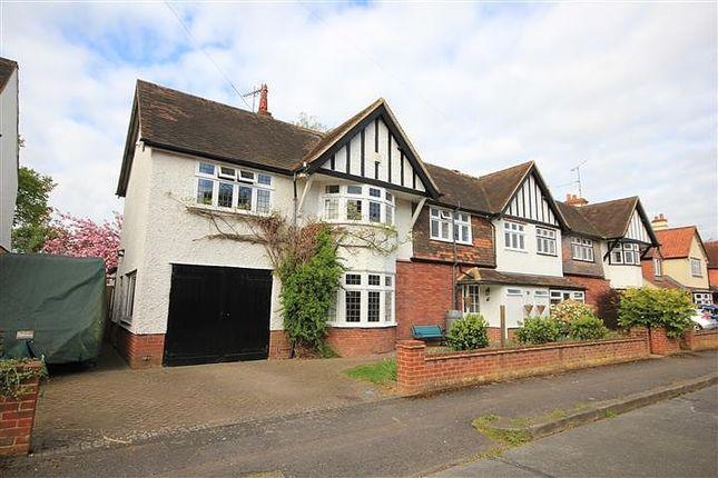 Thumbnail Semi-detached house for sale in Matlock Road, Caversham, Reading