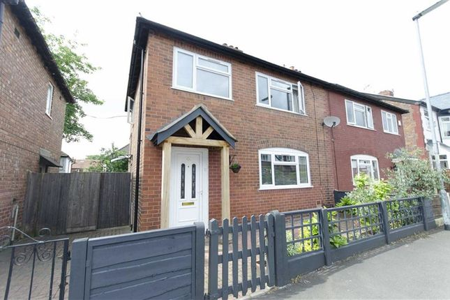 Thumbnail Semi-detached house to rent in Elmsmere Road, Didsbury, Manchester, Greater Manchester