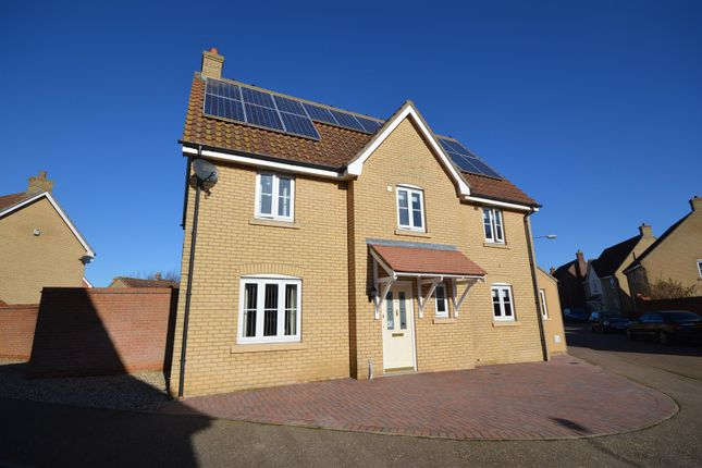 Thumbnail Detached house for sale in Churchfields Road, Long Stratton, Norwich