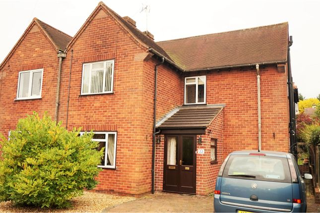 Thumbnail Semi-detached house for sale in Dornoch Avenue, Southwell
