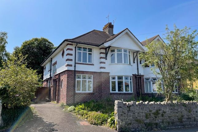 Thumbnail Semi-detached house for sale in Uphill Road South, Uphill, Weston-Super-Mare
