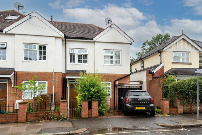 Thumbnail End terrace house for sale in Burney Avenue, Surbiton