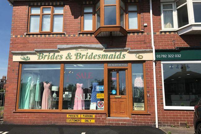 Thumbnail Retail premises for sale in Blurton Road, Fenton, Stoke-On-Trent
