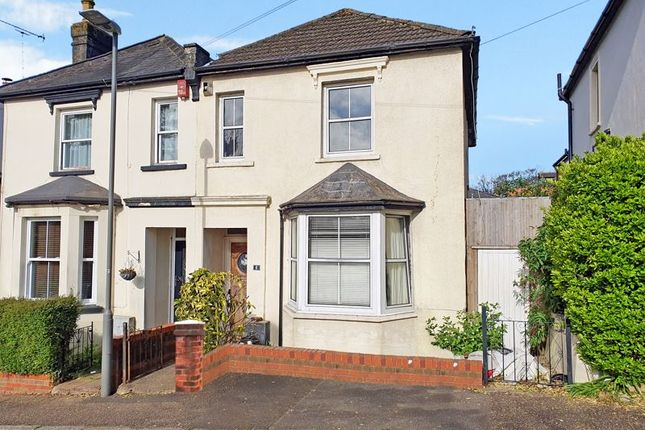 Thumbnail Semi-detached house for sale in Aveling Road, High Wycombe
