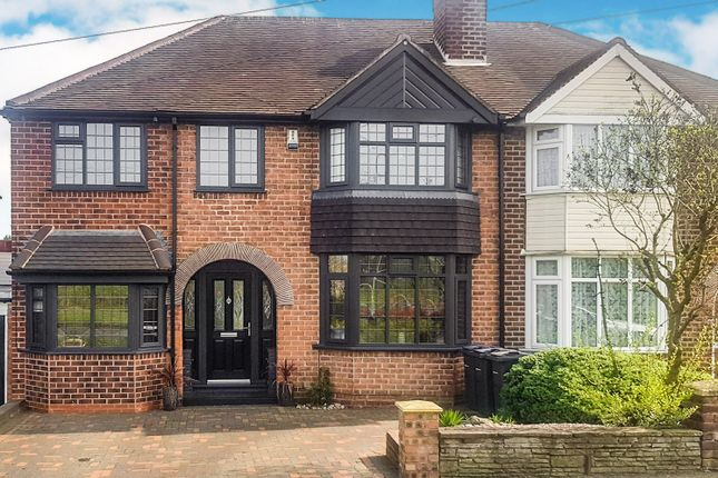 Thumbnail Semi-detached house for sale in Queslett Road East, Sutton Coldfield