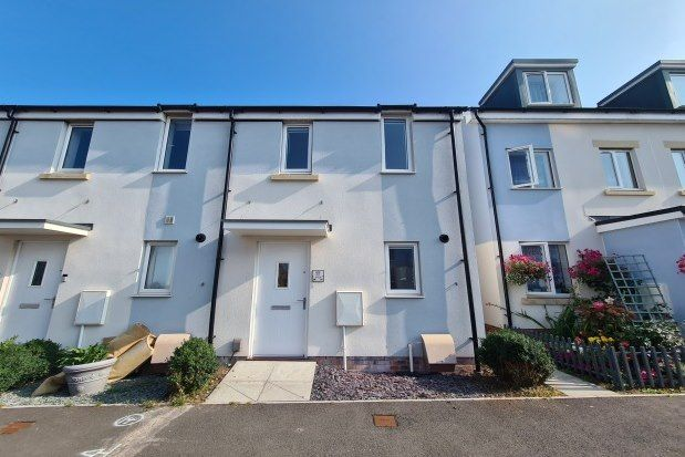 Thumbnail End terrace house to rent in Glider Avenue, Weston-Super-Mare