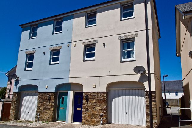 Thumbnail Semi-detached house for sale in Laity Fields, Camborne
