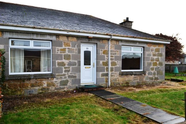 Thumbnail Semi-detached bungalow to rent in Roysvale Place, Forres