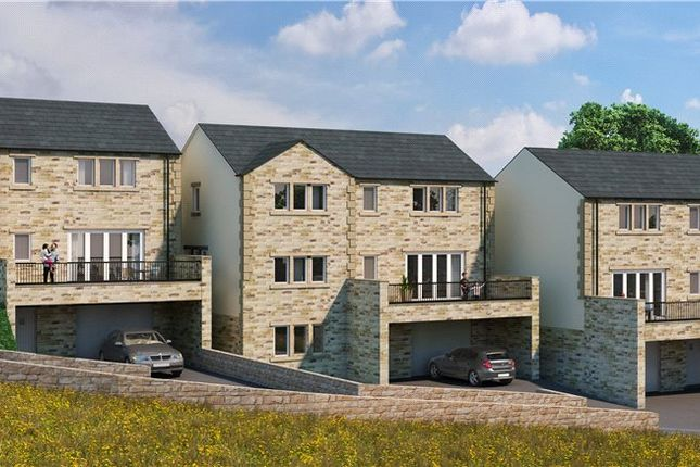 Thumbnail Detached house for sale in Branshaw Garden, Oakworth, Keighley