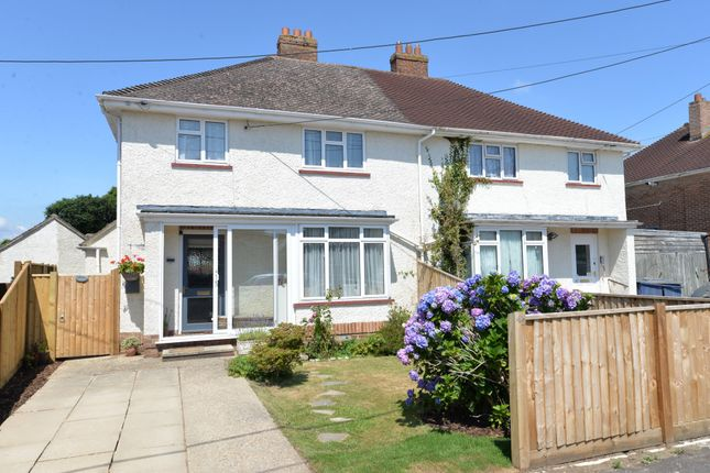 Thumbnail 3 bed semi-detached house for sale in Winchester Road, New Milton