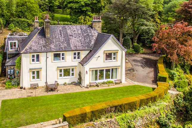 Thumbnail Detached house for sale in Long Hill, Darley Hillside, Matlock
