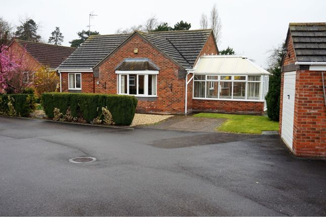 Thumbnail Detached bungalow for sale in Haverholme Close, Sleaford