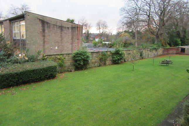 Rear Garden of Woodlawn Court, Whalley Range, Manchester. M16