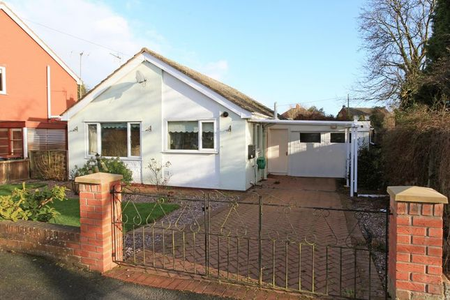Thumbnail Detached bungalow for sale in Arran Way, Muxton, Telford