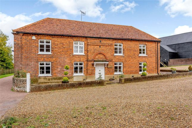 Thumbnail Equestrian property for sale in Redbourn Road, St. Albans, Hertfordshire