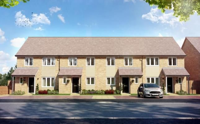Thumbnail End terrace house for sale in Miliners Place, Caleb Close, Luton