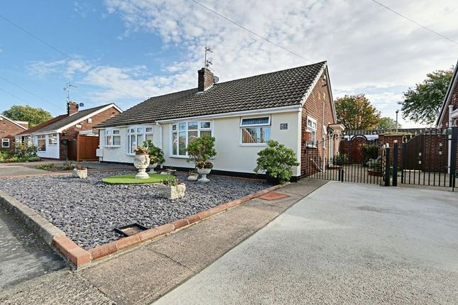 Thumbnail Semi-detached bungalow for sale in Lexington Drive, Hull
