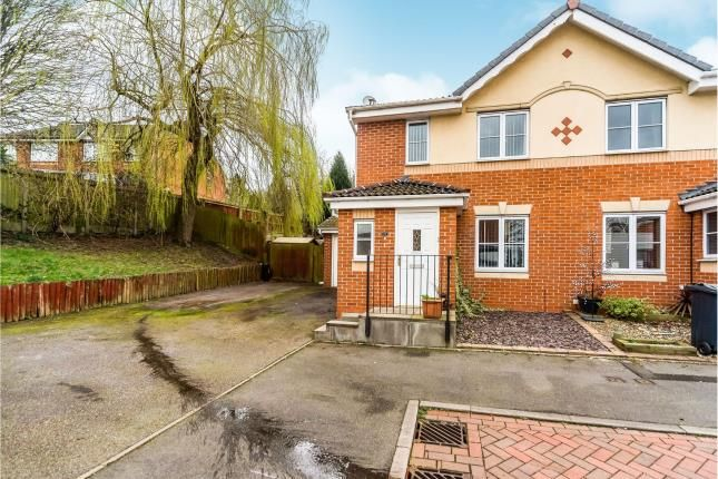 Thumbnail Semi-detached house for sale in Burton Grove, Old Hill, Cradley Heath, West Midlands