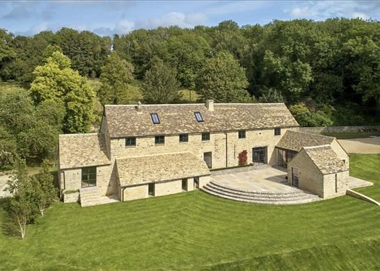 Thumbnail Detached house for sale in Bagpath, Tetbury
