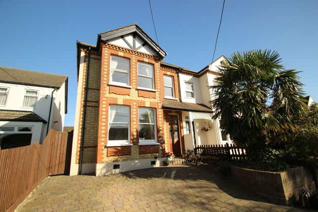 Thumbnail 4 bed semi-detached house for sale in Beech Road, Green Street Green