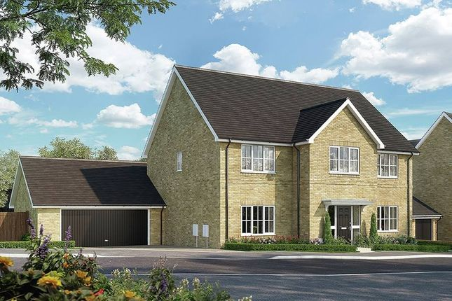 "Thumbnail Detached house for sale in ""The Samville_Brick"" at Bury Water Lane, Newport, Saffron Walden"